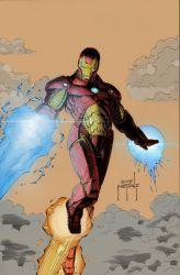Iron Man Colours by greenjaygraphic