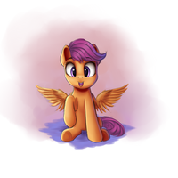 Scootaloo by VanillaGhosties