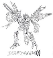 SOUNDWAVE ACKNOLEDGES. by blackout501st