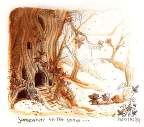 Somewhere in The Snow by Foyaland