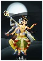 The Dance of ShivanSakthi by TrIXInc