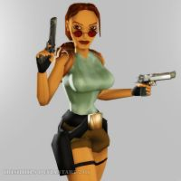 Tomb Raider Classic: TRA Pose by Irishhips