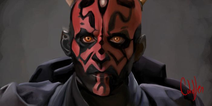 Darth Maul by RedSmile77