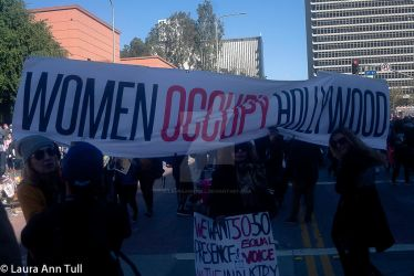 Women Occupy Hollywood at Women March 2018 LA by LauraAnnTull