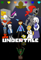 Undertale by Evildraws