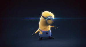 Karate Minion by djreko