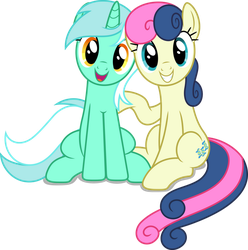 Vector #865 - Best Friends Forever by DashieSparkle