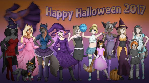 Halloween Special 2017 by Luxianne