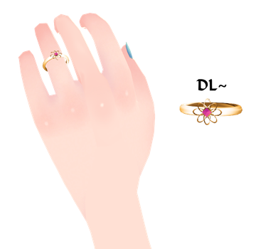 {MMD} Violette's Ring DL by Drindrence