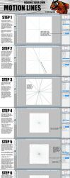 TOW-1: Photoshop Motion Lines Tutorial by verticalfish