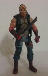 Zd 23Friday th 13 Jason custom figure by Bender18