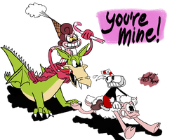 You're Mine! by AVM-Cartoons