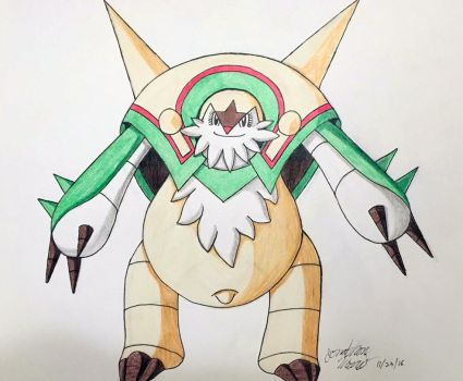 (Request) Pregnant Chesnaught by JAM4077