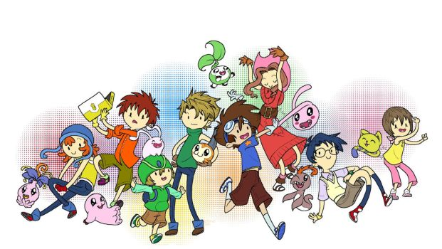 Digimon Adventure Time by CitrusCactus