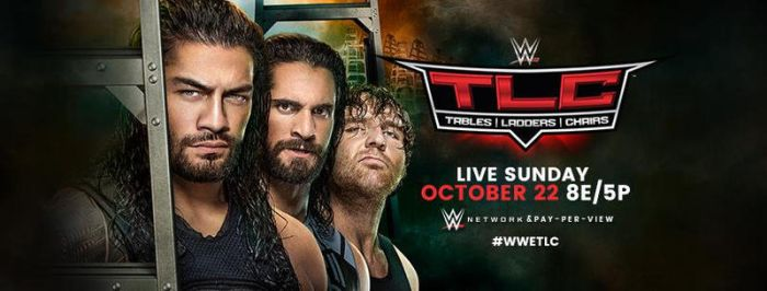 WWE TLC 2017 Cover Photo by SidCena555