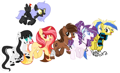 Some of my favorite youtubers by Noctis-Stella