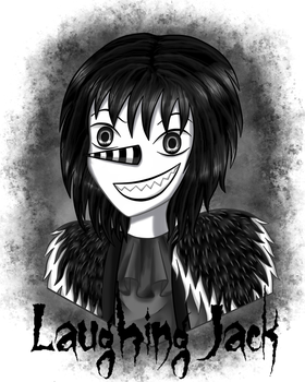 Laughing Jack Portrait by Lisari-Neon
