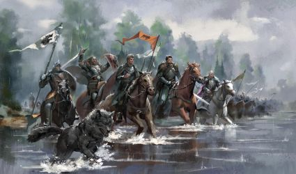 King Robb's South War by zippo514