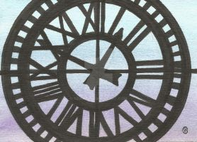 365DCCDay46 My Clock Tower Window by soarts