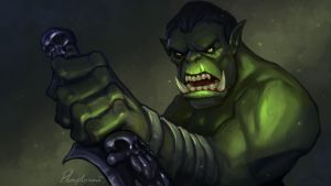 Orc by Phosphonian