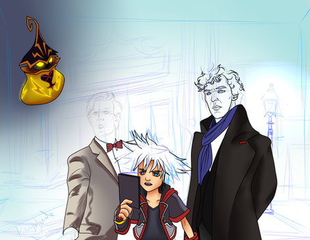 WIP - Consulting Party Members by TheDoctorArtist
