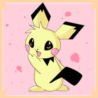 Pichu is a cuutie by everspark