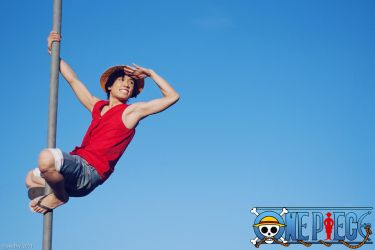 One Piece - Monkey D. Luffy by beethy