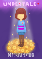 [UNDERTALE] Frisk: Determination by xBerrySilver