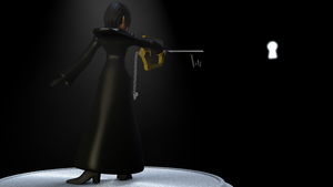 Kingdom Hearts: Xion 3D Model (seal the keyhole) by TheRPGPlayer