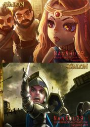 ::Commission:: Some of Avalon card. by nanshu29