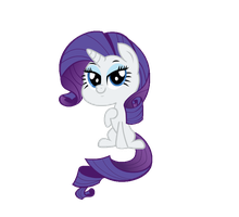 Chibi-Rarity Animation by Poison--Hearts