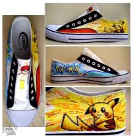 Pikashoes by KristynJanelle