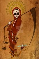 santa muerte by ElisaNickless