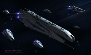 Battle Fleet of SSV Tai Shan by reis1989