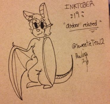 Inktober 19 (2017) by Sweetcream10