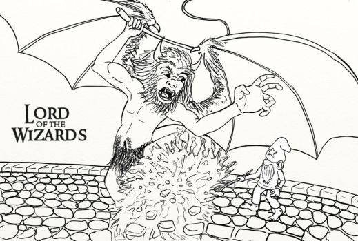Lord of the Wizards by DungeonWarden
