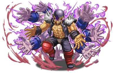 Puzzle and Dragons : Fist Of North Star Jagi by hes6789