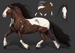 Heavy horse adopt 1 - [closed] 20 points by TheAdoptArtist