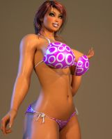 Tanned Melina 03 by willdial