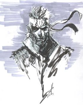 Big Boss Brush Pen by SkizzleBoots