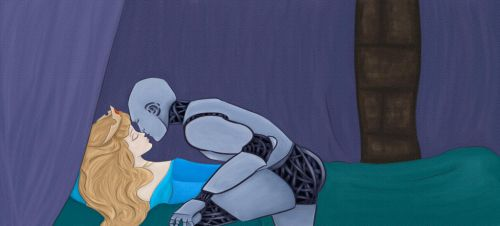 Sleeping Beauty and The Robot by GeorgiaNicolaou