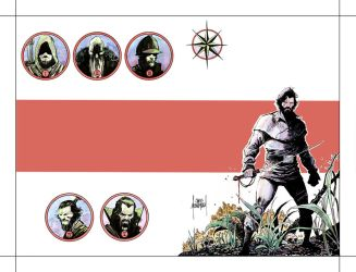 Five Ghosts Volume 2 Cover Colors by Mooneyham