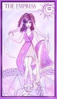tarot cards-3 goddess by Goldphishy
