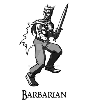 Barbarian by artikid