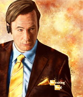 Breaking Bad - Saul Goodman by p1xer
