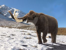 Woolly Mammoth : Spring is on the way... by Leogon