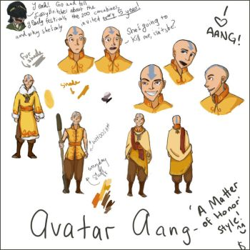 Aang 'MoH' Planning by luna-wannabe