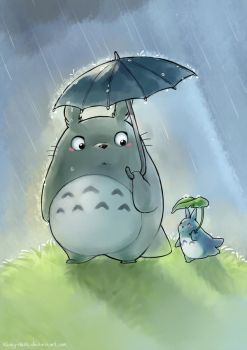 :My Neighbour Totoro: by Kinky-chichi