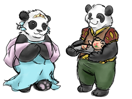 Bears of Antiquity by ShakeablePanda