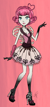 C.A. Cupid - Monster High by ClaraKerber